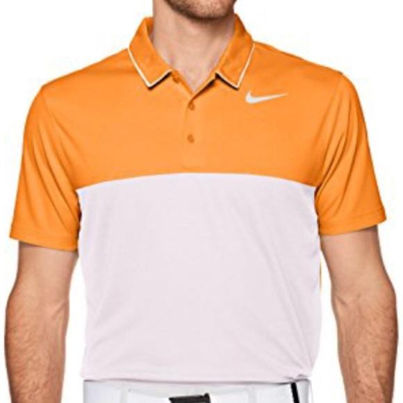 7cb29bbf3 Nike Men s Dri-FIT Color Block Golf Polo